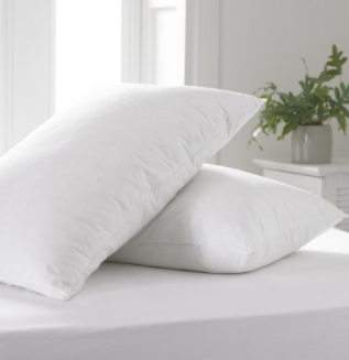 The County Duck Feather Pillow Pair - Sleep Wonderful