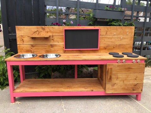 Mud Kitchen, Large (6')