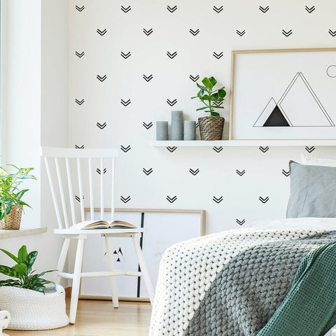 Geometric Arrows Wall Decals