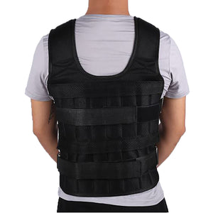 30KG Loading Weight Training Adjustable Vest