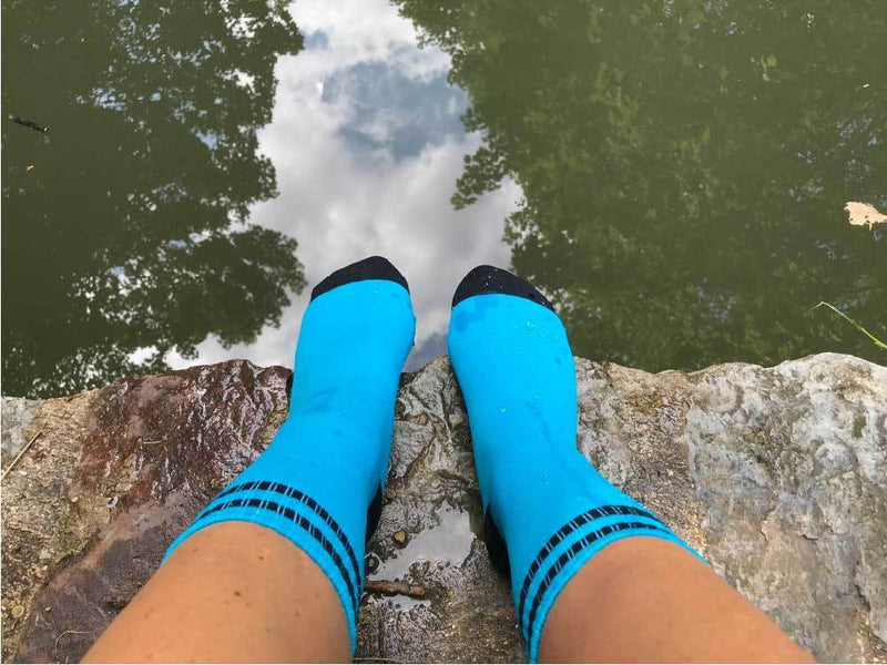 V-DRY - TRAIL-DRY Blue Waterproof Sock