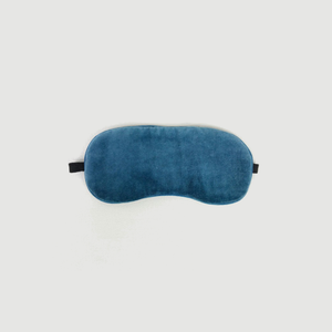 Blue Velvet Eye Mask