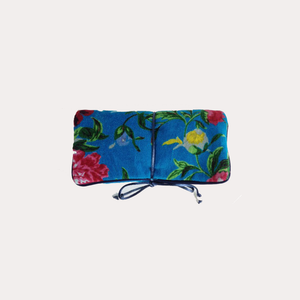 Petals Jewellery Bag Spring Bloom Turquoise