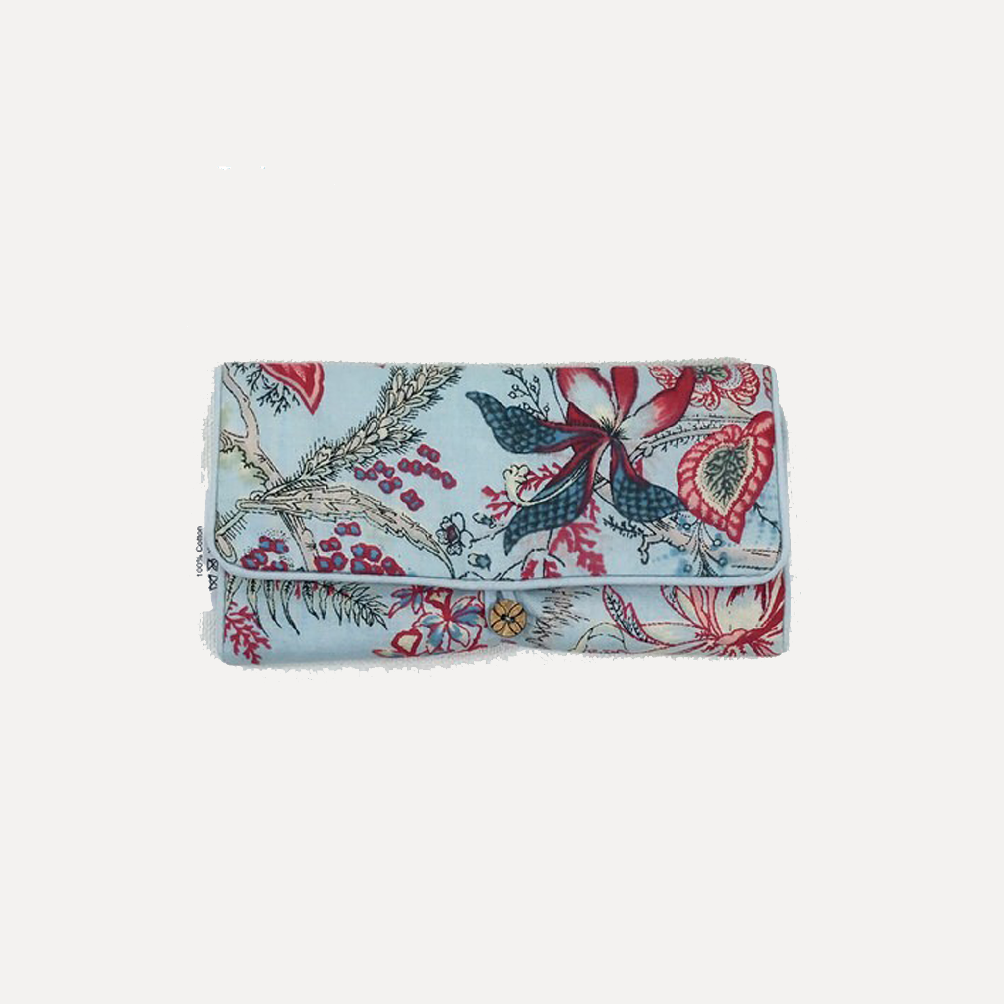 Petals Jewellery Bag Liberty Blue