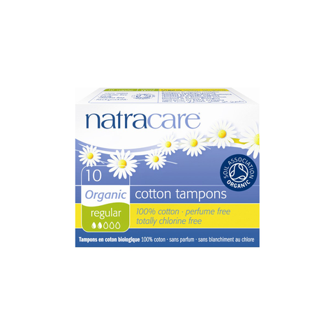 Natracare 100% Certified Organic Cotton Tampons