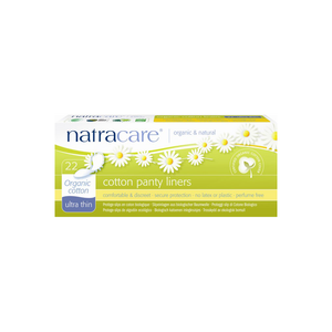Natracare Ultra Thin Organic Cotton Panty Liners