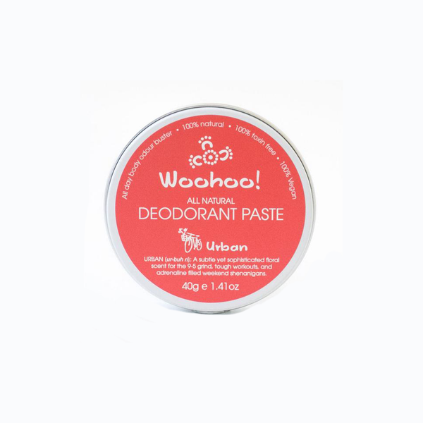 Woohoo Natural Deodorant Paste | Urban