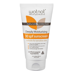 Wotnot Family Sunscreen and SPF 30