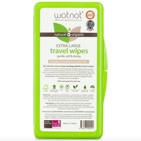 Wotnot Travel Baby Wipes