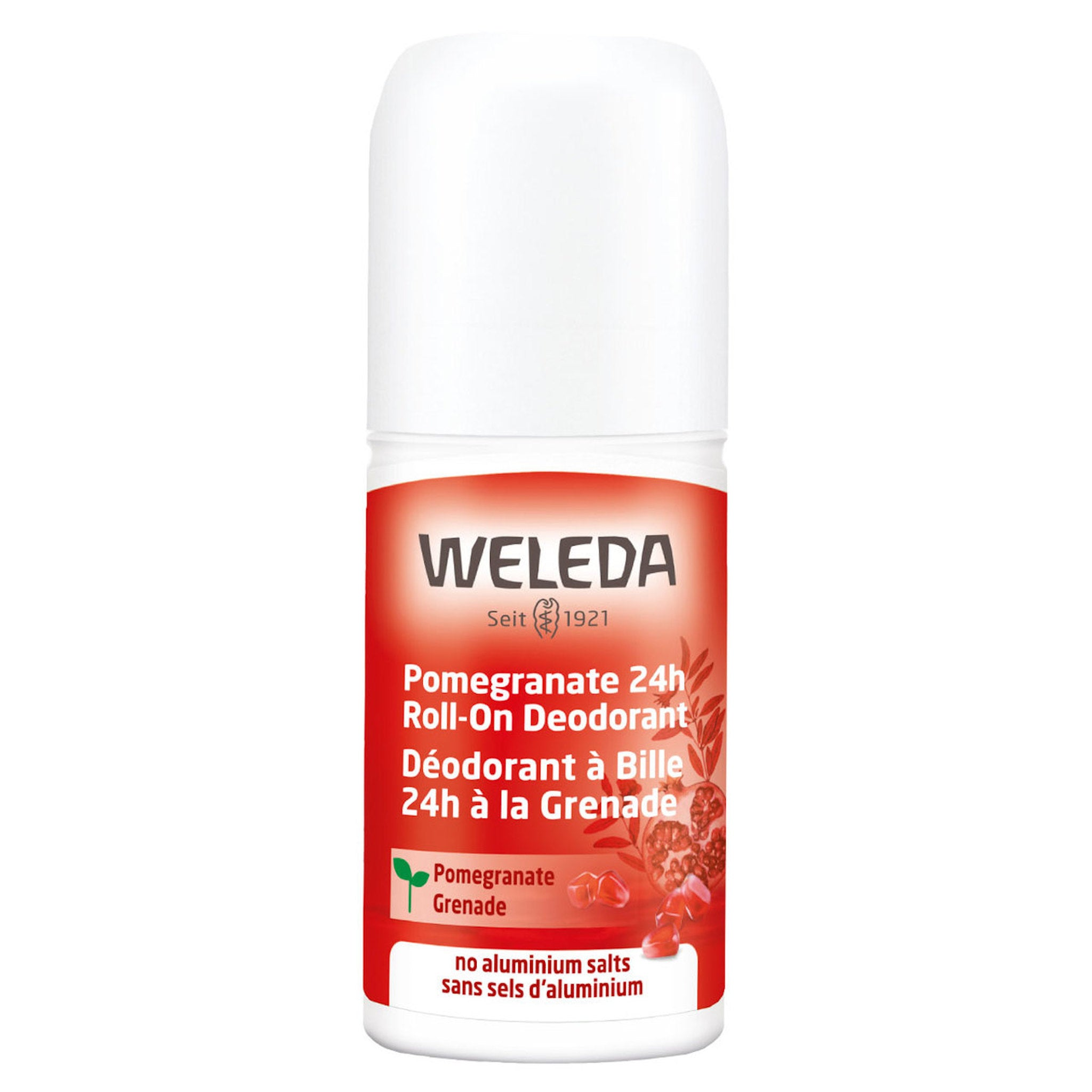 Weleda Pomegranate 24 Hour Roll On Deodorant 50ml