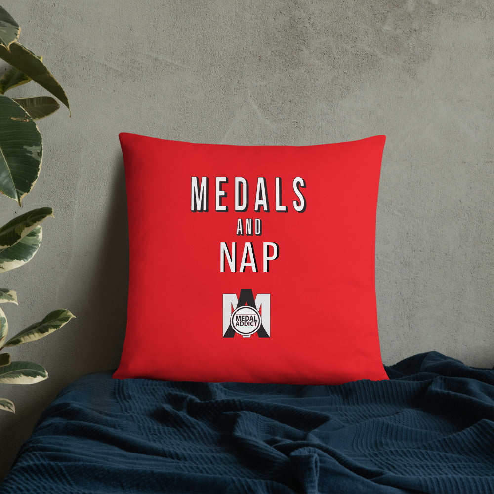 Medals and Nap Pillow