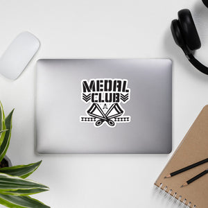 Medal Club Bubble-free stickers