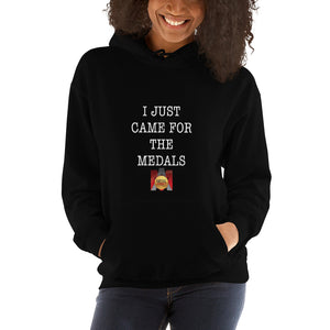 I Just Came For The Medals Hooded Sweatshirt