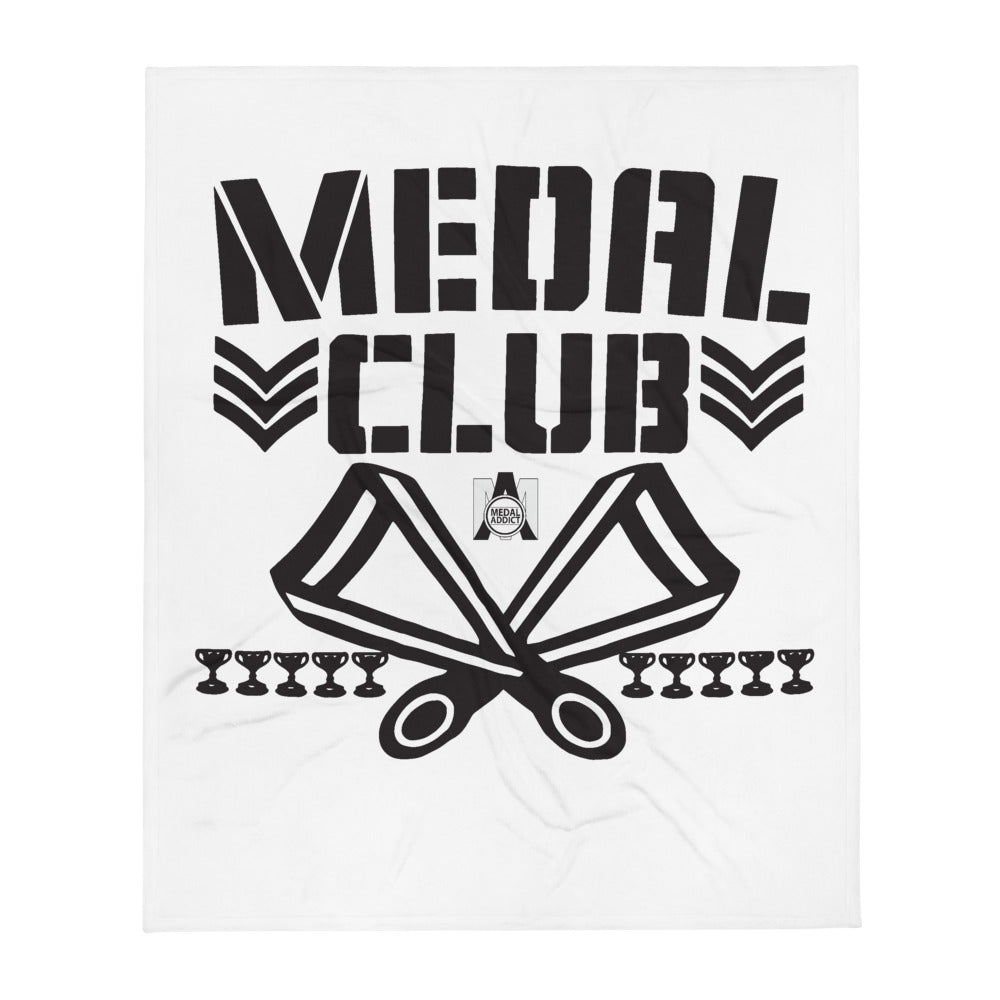 Medal Club Throw Blanket
