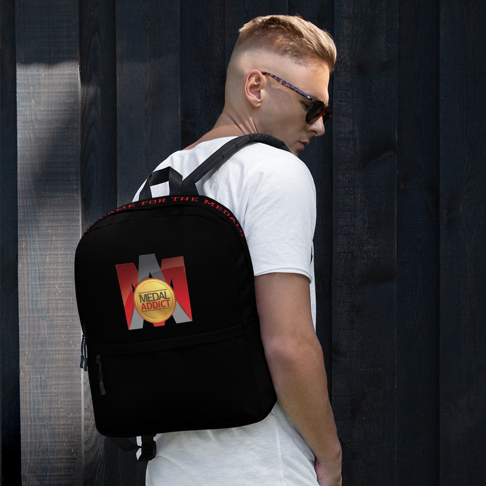 Medal Addict Logo Backpack