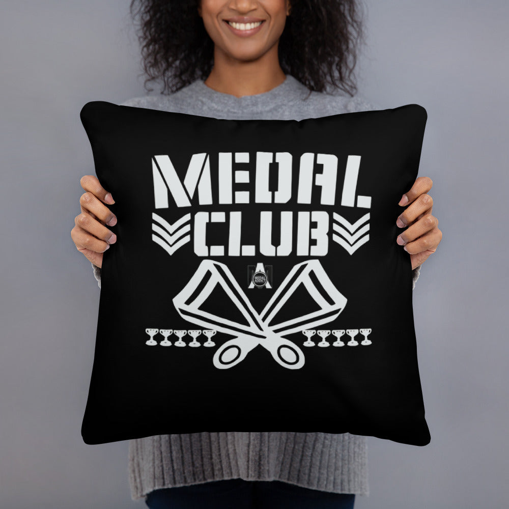 Medal Club Pillow (Black)