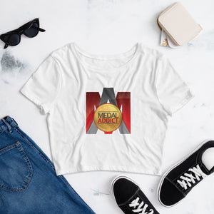 MA Logo Women's Crop Tee