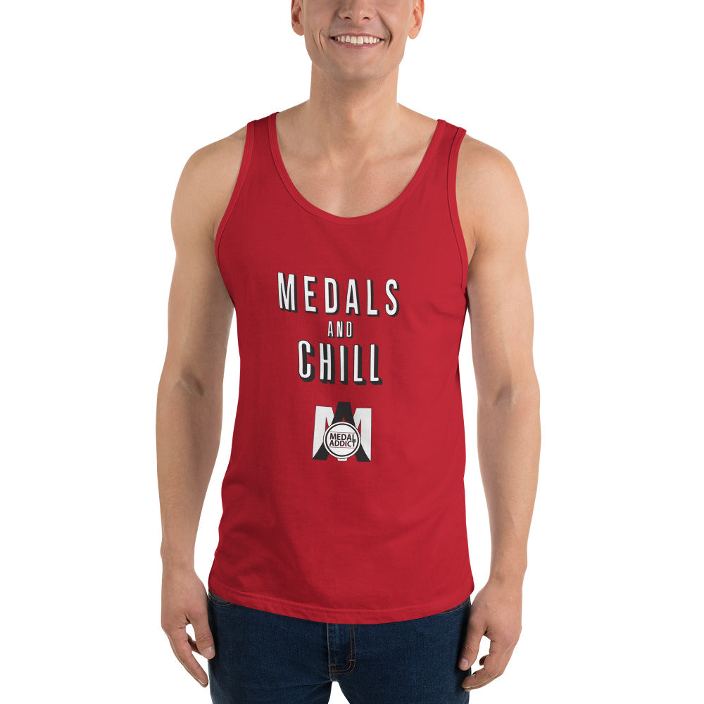 Medals and Chill Unisex  Tank Top