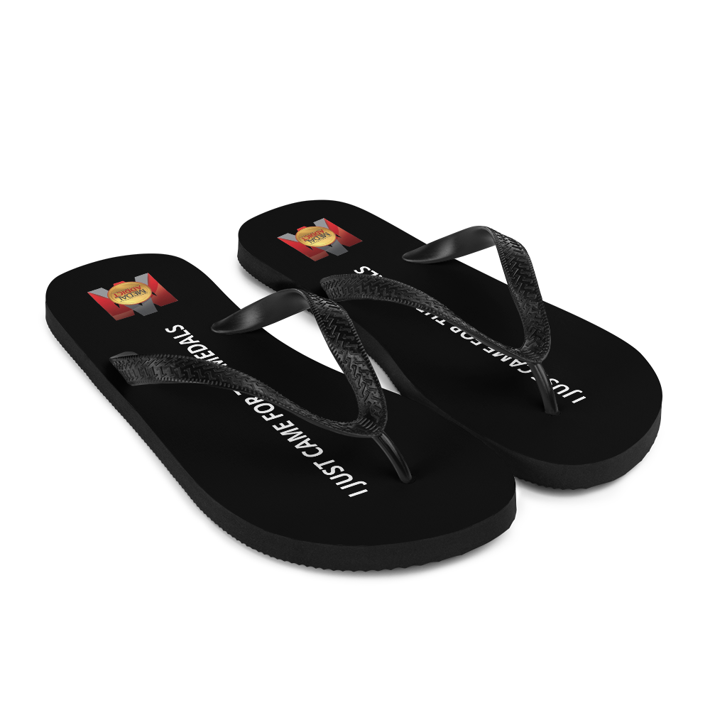 i Just Came For The Medals Flip-Flops