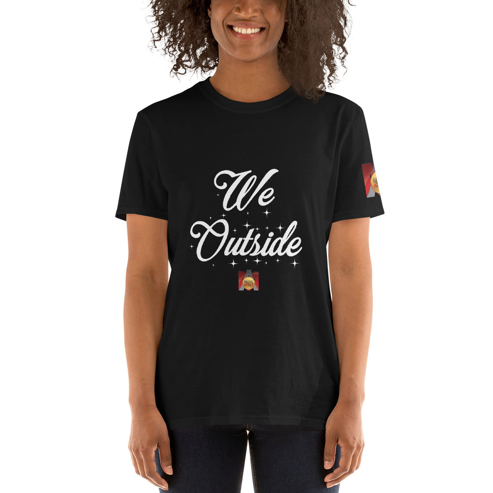 We Outside Short-Sleeve Unisex T-Shirt