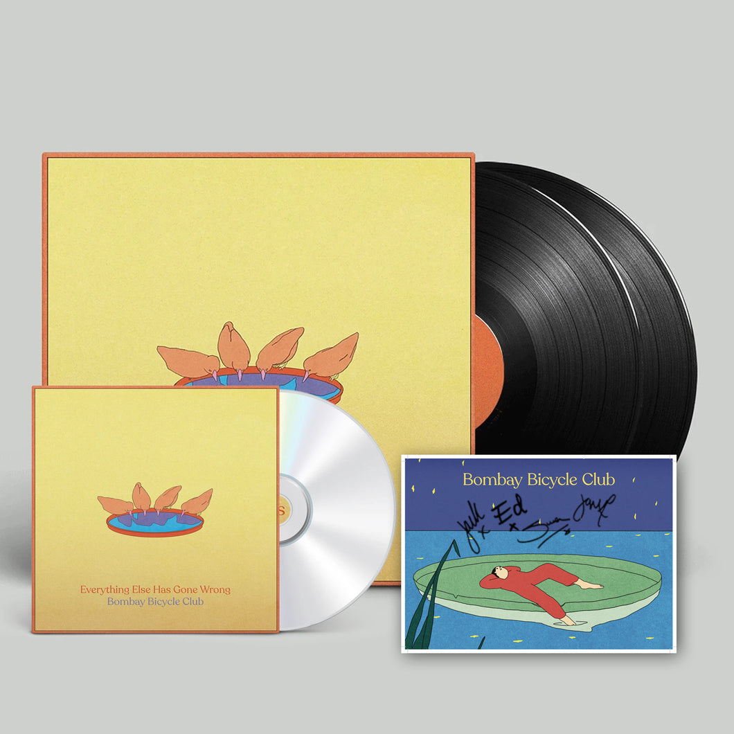 Everything Else Has Gone Wrong CD + Deluxe LP + Signed Artcard