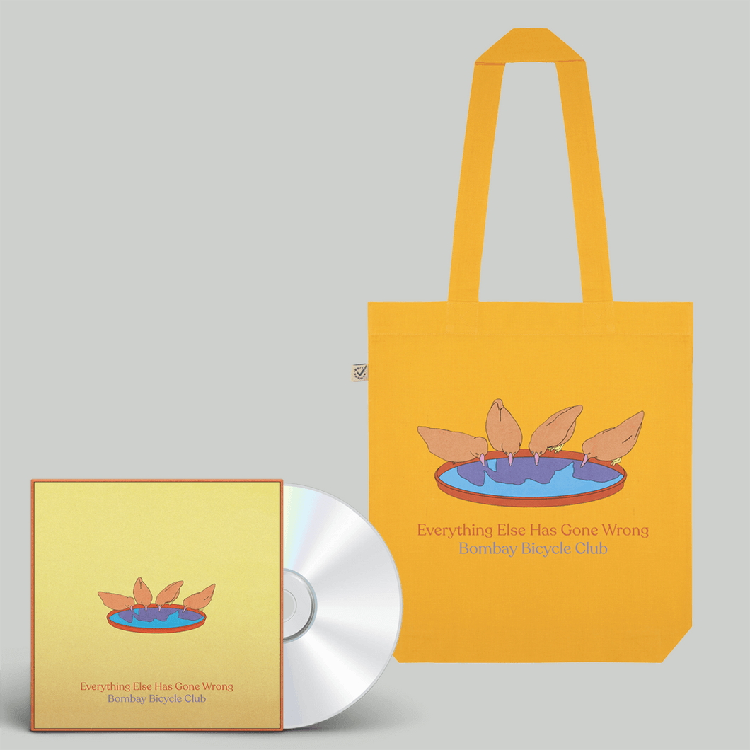 Everything Else Has Gone Wrong CD + Tote