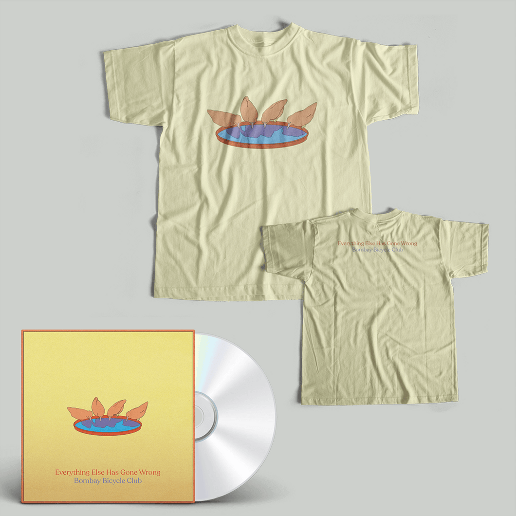 Everything Else Has Gone Wrong CD + Tee