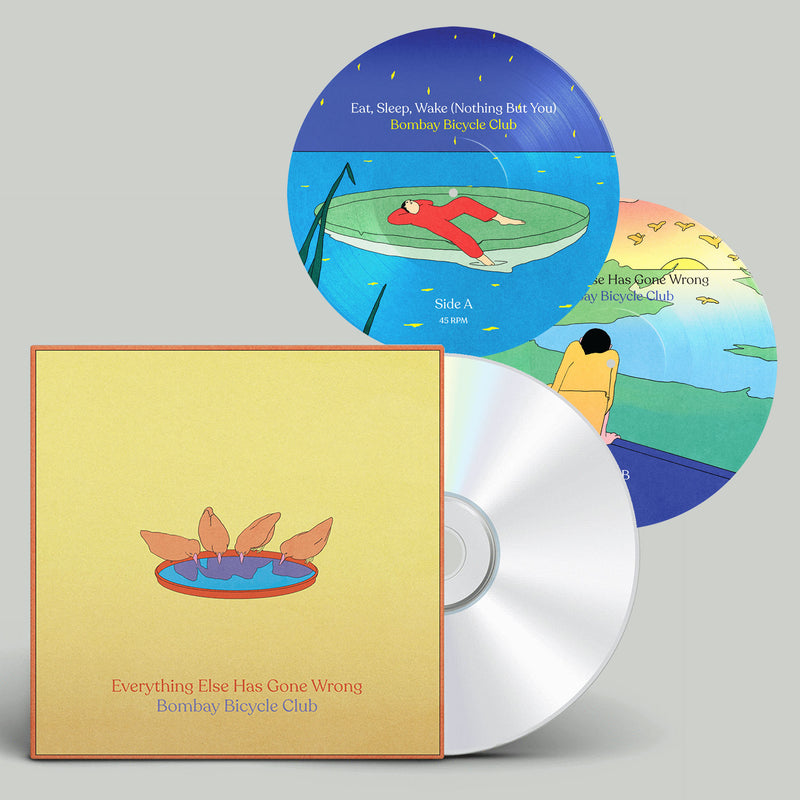 "Everything Else Has Gone Wrong (CD) + 7"" Picture Disc"