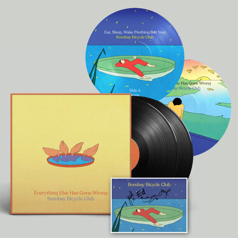 "Everything Else Has Gone Wrong (Deluxe LP) + Signed Artcard + 7"" Picture Disc"