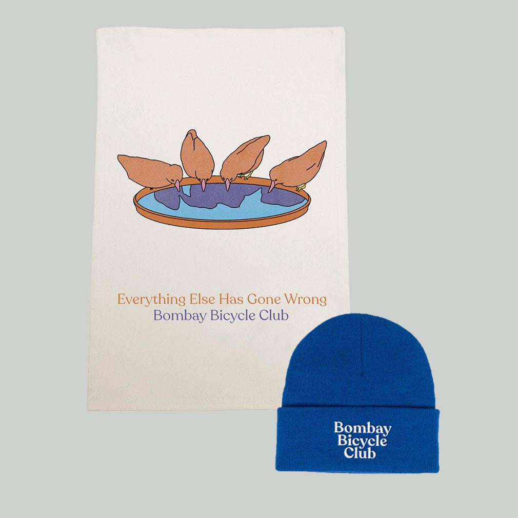 Everything Else Has Gone Wrong Tea Towel & Logo Beanie Bundle