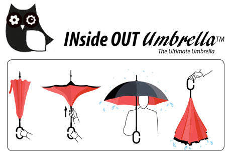 EnviroTrend Inside Out Umbrella