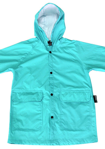 SPLASHitToMe Cyan Raincoat
