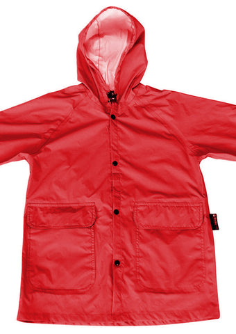 SPLASHitToMe Flame Red Raincoat