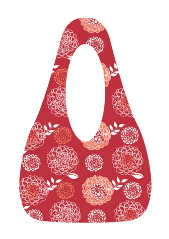 SwingSAK Red Bloom Bag