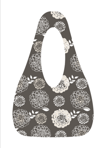 SwingSAK Grey Bloom Bag