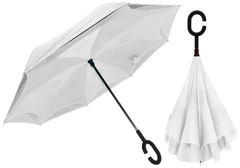 White INside OUT Umbrella
