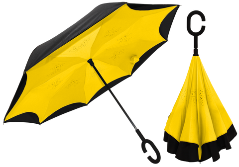 Yellow INside OUT Umbrella