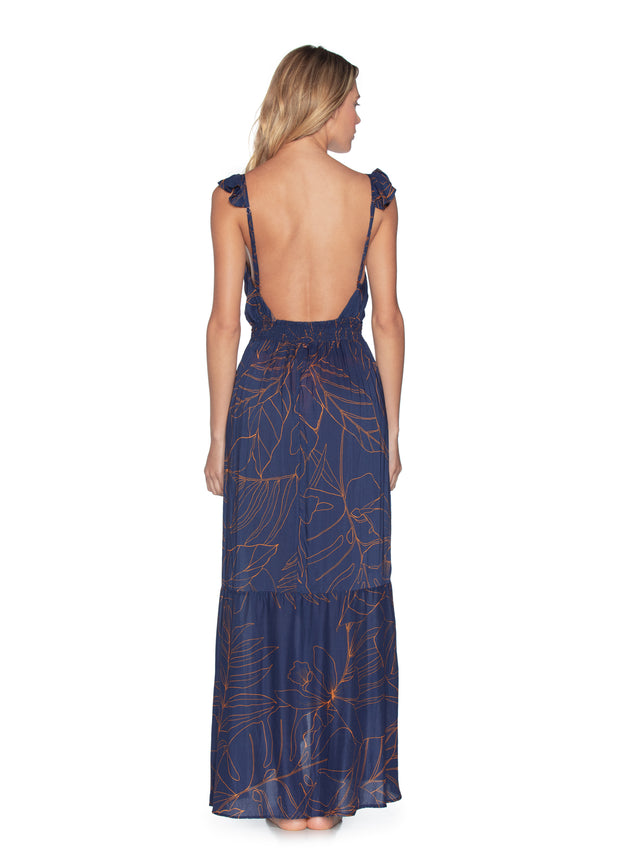 Maaji Seas the Day Long Dress Beach Cover Up