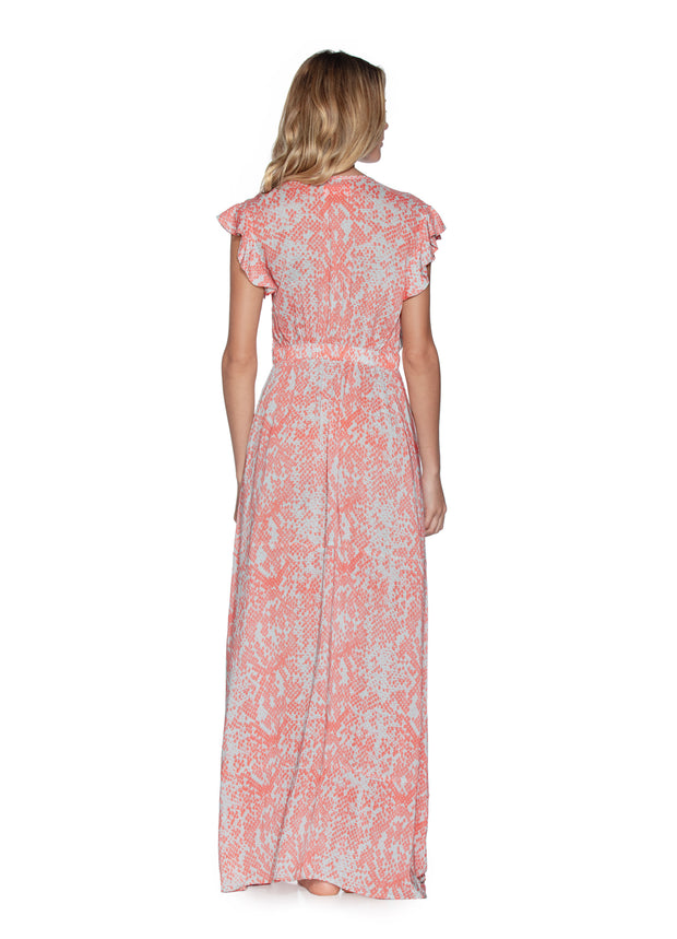Maaji Snake Bite Long Beach Dress