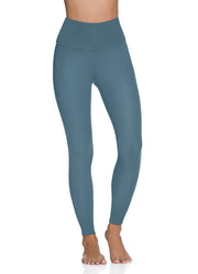 Maaji Double Dream Prussian Reversible High Rise Full Legging