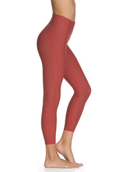 Maaji Dazzling High Garnet High Rise 7/8Th Legging