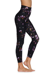 Maaji Dazeful High Wildflowers Black High Rise 7/8Th Legging