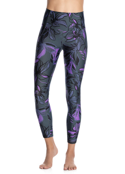 Maaji Dazeful High Hibiscus Pacific High Rise 7/8Th Legging