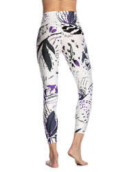 Maaji Dazeful High Botany Ivory High Rise 7/8Th Legging