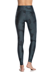 Maaji Dazeful High Bagheera Pacific High Rise Full Legging