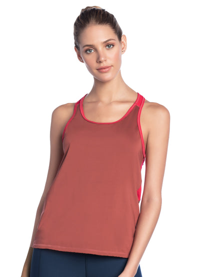 Maaji Leap Garnet Tech Tank Top
