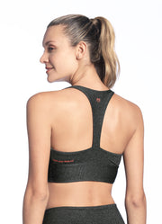 Maaji Whispering Pure Meteorite Low Impact Sports Bra
