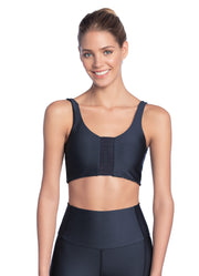 Maaji Resilient Odyssey Prussian 4 Way Medium Impact Sports Bra