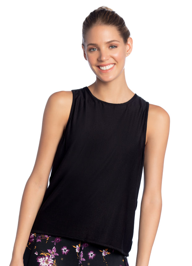 Maaji Gleam Black Tank Top