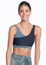 Maaji Sublime Aegean 2 Way Medium Impact Sports Bra